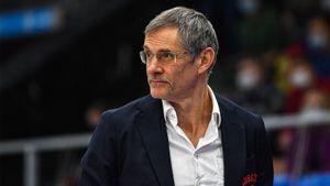 Базаревич ушел с должности главного тренера сборной России по баскетболу