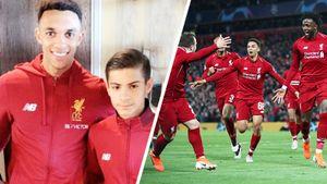 Соавтор четвертого гола «Ливерпуля» — 14-летний болбой. Он отпраздновал победу прямо перед Месси