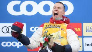 Большунов продолжает побеждать и после Тур де Ски. Его отрыв от Клэбо в Кубке мира больше 100 очков