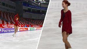 Тройной аксель Косторной и роскошное красное платье Трусовой. Наши фигуристки за несколько часов до старта сезона