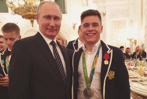 Олимпийский чемпион Нагорный рассказал о встрече с Путиным: «Нереальный мандраж! Я забыл все, что хотел сказать»