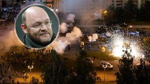 Геркус отреагировал на протесты в Белоруссии: «Россия должна объявить о непризнании выборов. И потребовать новые»
