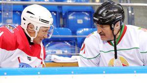 Россия бойкотирует ЧМ по хоккею вне Белоруссии? Как Путину сыграть «за себя и за Сашку»