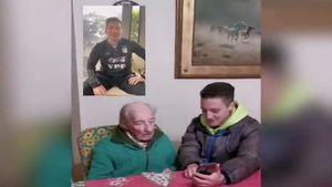 Месси записал видео 100-летнему аргентинскому болельщику. Тот документирует все его голы в блокнот