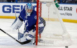 Василевский повторил рекорд «Тампы». Он – самый побеждающий вратарь НХЛ