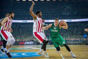 «Жальгирис» обыграл «Олимпиакос» и вышел в «Финал четырех» Евролиги