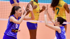 Россия проиграла Бразилии в принципиальном матче на КМ. Но медали у нас, а не у южноамериканок