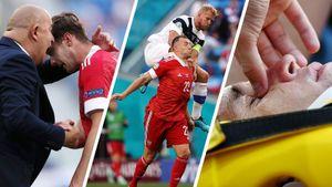 Черчесов благодарил Миранчука, финны жестко рубили наших, Фернандес страдал: фото первой победы России на Евро