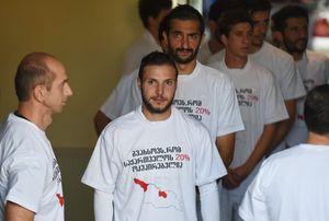 Федерация футбола Грузии не будет наказывать спортсменов за антироссийскую акцию