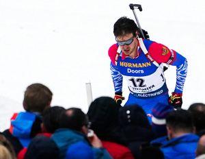 Российский биатлонист Елисеев выиграл спринт на чемпионате Европы