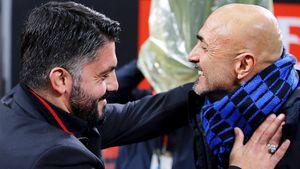 «Милан» и«Интер» дали жару вдерби. Судья сел нашпагат, Спаллетти был удален