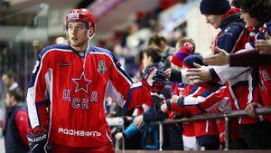 Еще один русский хоккеист ЦСКА собирается вАмерику. Три года назад Шалунова уже звали вНХЛ