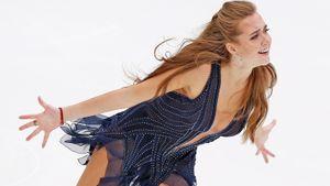 Призер чемпионата мира Елена Радионова завершила карьеру. Прощальный прокат на Кубке России в фотографиях