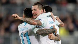 «Теперь надо выиграть уЦСКА». «Зенит» пожертвовал матчем с«Бордо», ноостался напервом месте