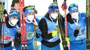 Лучшие моменты сезона для сборной России по биатлону: 3 медали в Антхольце, бронза ЧМ, подиум Латыпова