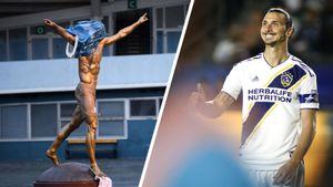 Фанаты «Мальме» надели напамятник Златану сидушку отунитаза. Ибра купил акции другого клуба Швеции