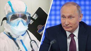 Путин наградил врача, которого уволили из «Енисея» за прогулы из-за работы в «красной зоне»