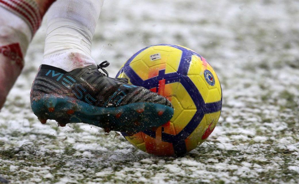 Вматчах РФПЛ вснежную погоду будет использоваться оранжевый мяч