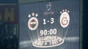 «Галатасарай» впервые за21 год обыграл «Фенербахче» навыезде