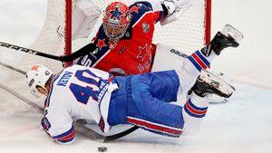 Голы СКА в Москве решили не засчитывать. Питер забил на два гола больше, но проиграл