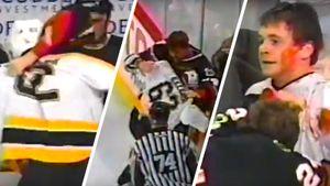 Разбил лицо легенде с одного удара. Легендарная драка русского хоккеиста Назарова: он бросил вызов великому канадцу
