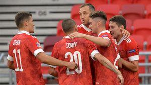 Россия чуть не упустила победу над Венгрией, ведя 3:0. Но, выиграв, команда Черчесова — 1-я в группе Лиги наций