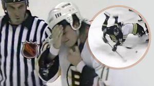 Ударил коньком в лицо. Как русский хоккеист Буре в матче НХЛ отправил к врачам латыша Жолтока: видео