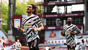 «МЮ» победил «Астон Виллу» и сохранил шансы догнать «Манчестер Сити» в чемпионской гонке