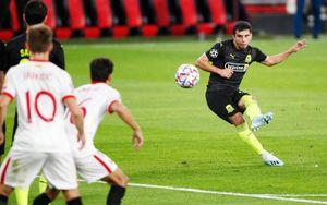 Гол Сулейманова «Севилье» признан лучшим мячом недели в Лиге чемпионов: видео