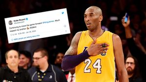 Последний твит Брайанта перед гибелью набрал засутки 53 тысячи комментариев и2 миллиона лайков