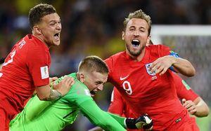 «После промаха Хендерсона было страшно». Как Англия наконец-то выиграла серию пенальти наЧМ