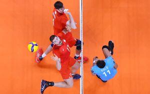 Российские волейболисты стартовали на Олимпиаде с победы над Аргентиной