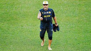 Марадона— простоБог. Ондаже интервью дает круче всех