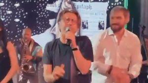 Овечкин исполнил песню «Рыба моей мечты» вместе со Шнуром: видео