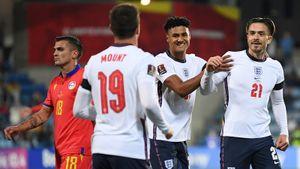 Англия со счетом 5:0 разгромила Андорру, Польша с темже счетом выиграла у Сан-Марино