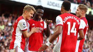 «Арсенал» обыграл «Тоттенхэм» в дерби, забив трижды в 1-м тайме