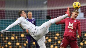 Решающий гол Макарова в дополнительное время, незабитый пенальти Дзюбы. Как «Рубин» обыграл «Зенит» в Казани