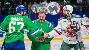 «Зеленое дерби»— лучшее, что есть вКХЛ. Огненный хоккей, драка капитанов, победа Уфы