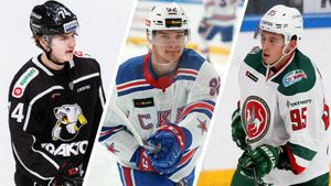 8 молодых звезд российского хоккея: Кравцов, Подколзин и другие таланты из клубов КХЛ
