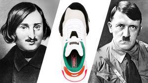 В новых кроссовках Puma увидели сходство с Гитлером. В компании отшутились, что это Гоголь
