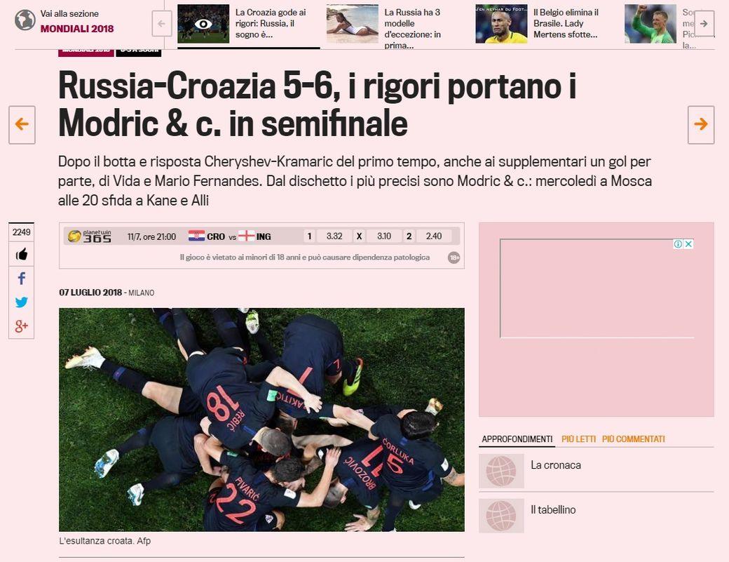 (La Gazzetta dello Sport)