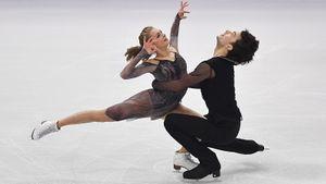 Историческая победа Грузии в танцах на льду. Ревия и Казакова тренируются в Балашихе