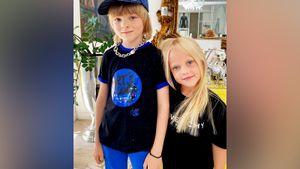 Гном Гномыч выполнил челлендж с Виолой Антоновой из топ-50 самых красивых детей мира: видео