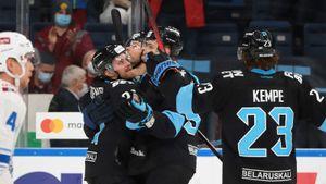 Минское «Динамо» победило «Барыс» и вышло на 2-е место в Западной конференции