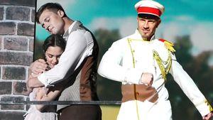 Медведева стала парницей, Ягудин шутил про смерть, Костомаров летал. Как стартовало шоу Авербуха в Сочи