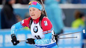 Елисеев и Юрлова-Перхт провалили «Рождественскую гонку»: оба упали на спуске и ужасно стреляли