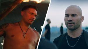 Боксер Усик и экс-боец UFC Лобов снялись в новом клипе рэпера Сереги: видео
