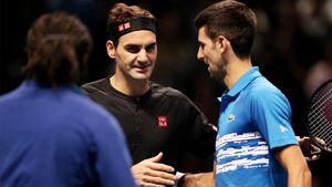 «Онролевая модель для всех, кто любит теннис. Втом числе для меня». Федерер в38 вынес Джоковича!