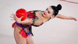 16-летняя Лала Крамаренко завоевала 4 золотые медали на этапе Гран-при по художественной гимнастике в Марбелье
