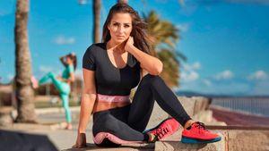 Красивые ноги иягодицы: мастер-класс отсловацкой фитнес-модели Тимеа Трайтеловой